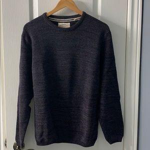 Men's cotton crewneck sweater - brand:Weatherproof